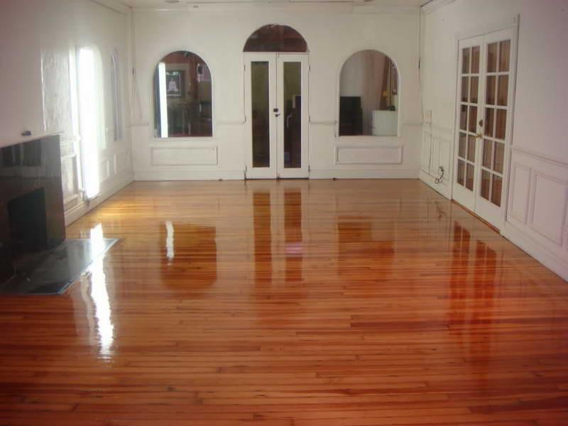 Hardwood Floor Paint Removal