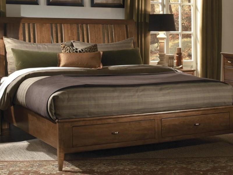 Heavy Duty Wooden King Size Bed Frame
