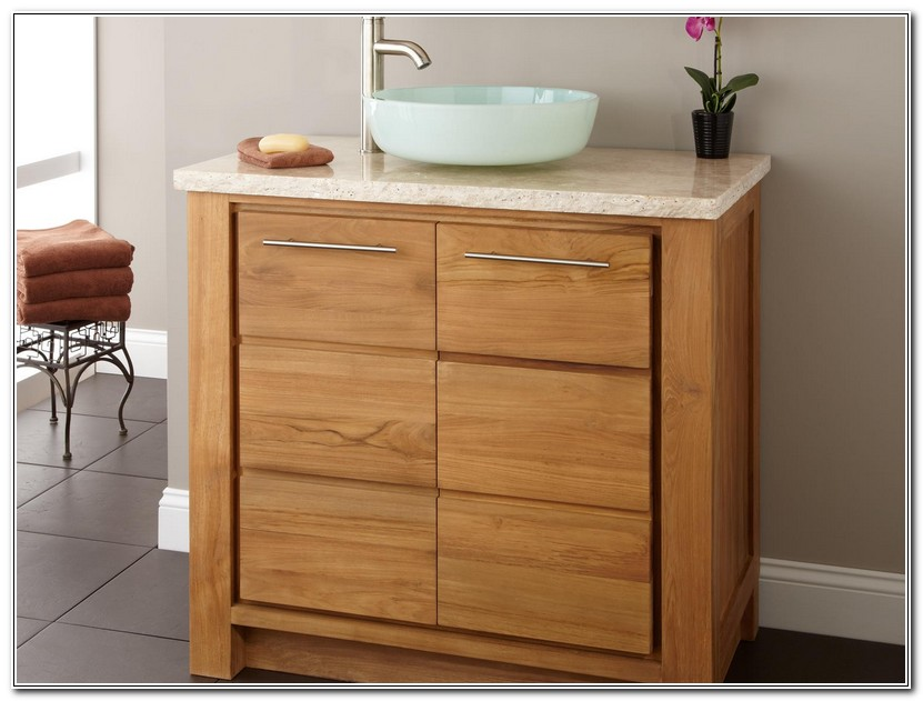 Height Of Bathroom Vanity For Vessel Sink