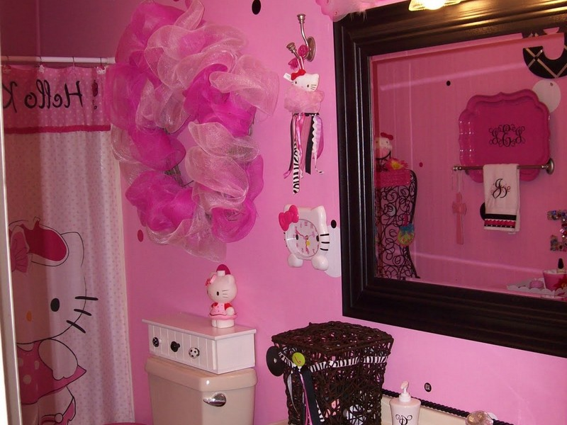 Hello Kitty Bathroom Decor Ideas