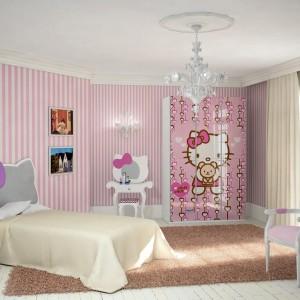 Hello Kitty Headboard Decal