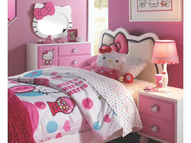 Hello Kitty Headboard For Queen Bed