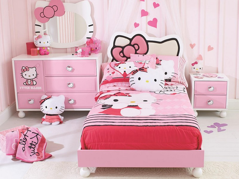 Hello Kitty Headboard Queen