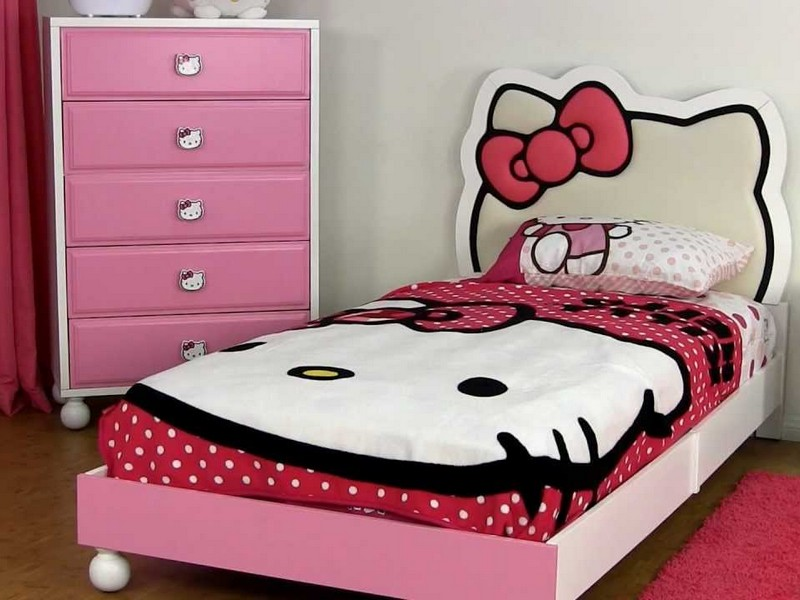 Hello Kitty Headboard