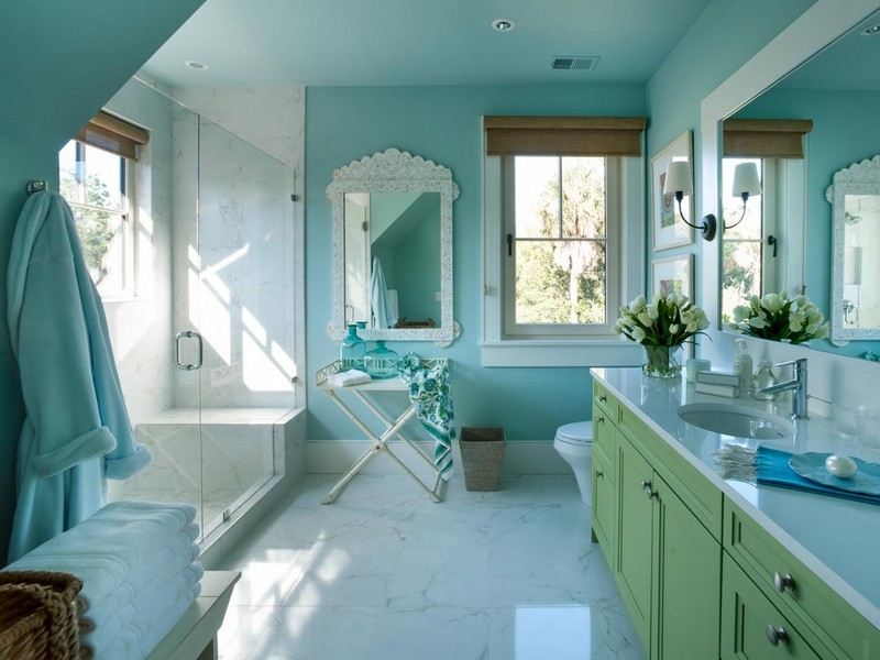 Hgtv Bathrooms Colors