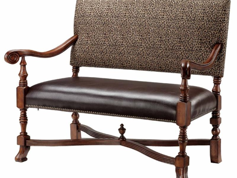 High Back Dining Settee