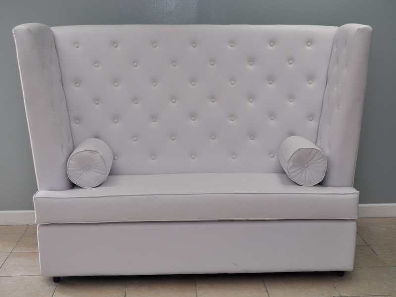High Back Loveseat Modern