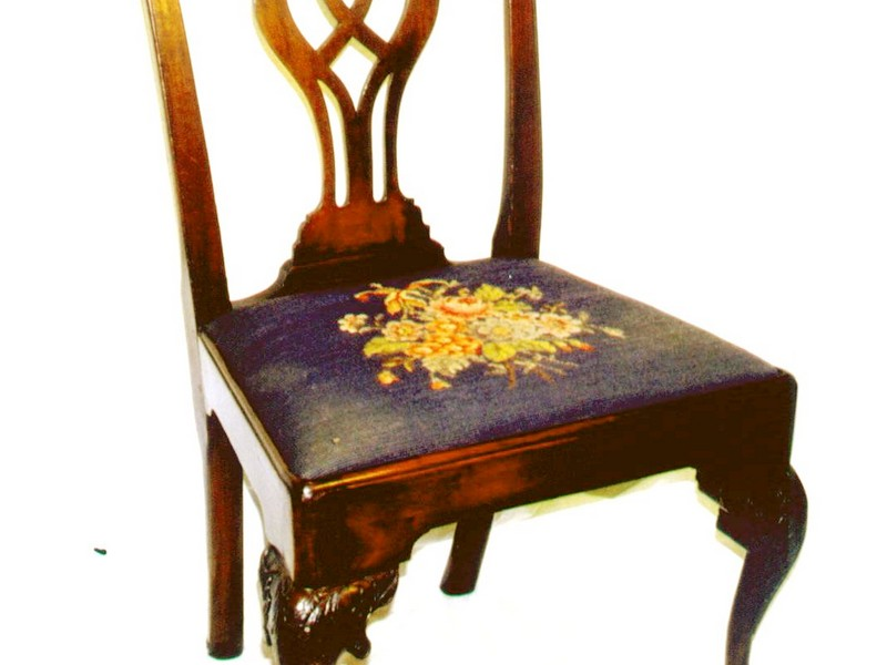 High Back Queen Anne Chairs