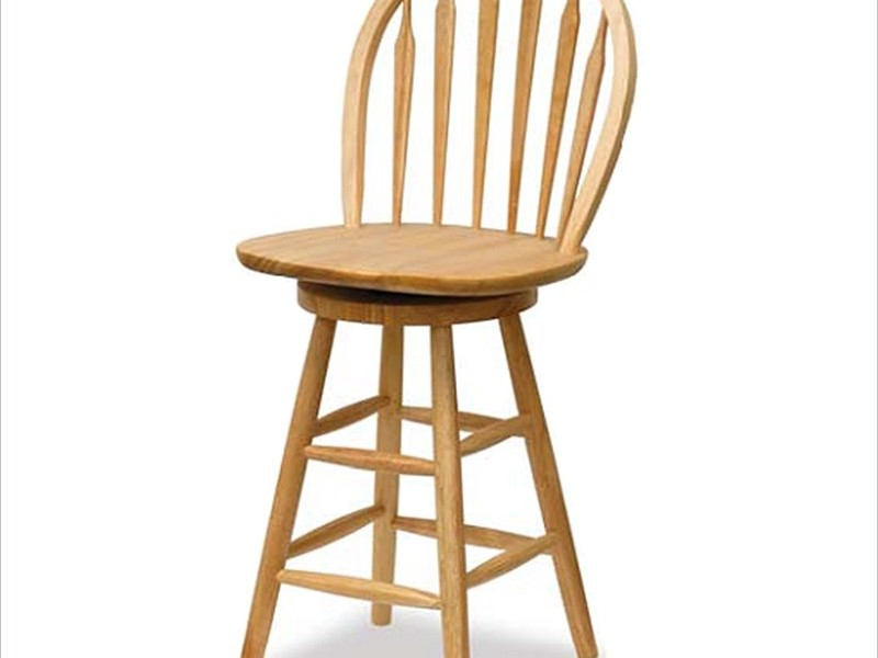 High Back Swivel Bar Stools