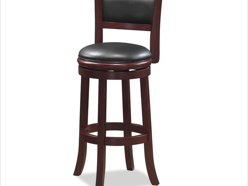 High End Leather Bar Stools