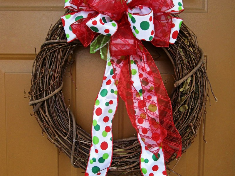 Holiday Bows For Wreaths