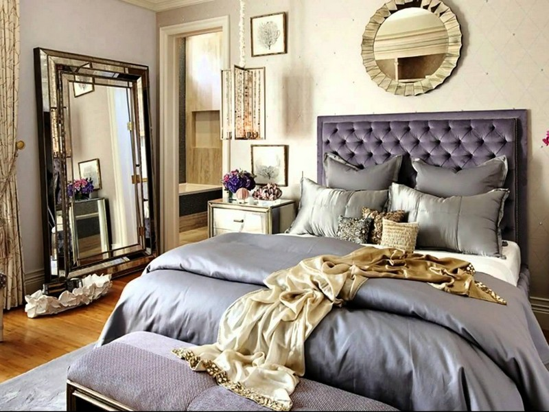 Hollywood Glam Bedroom Ideas