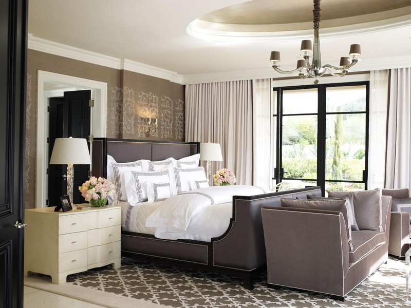 Hollywood Glam Master Bedroom