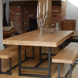 Homemade Benches For Kitchen Table