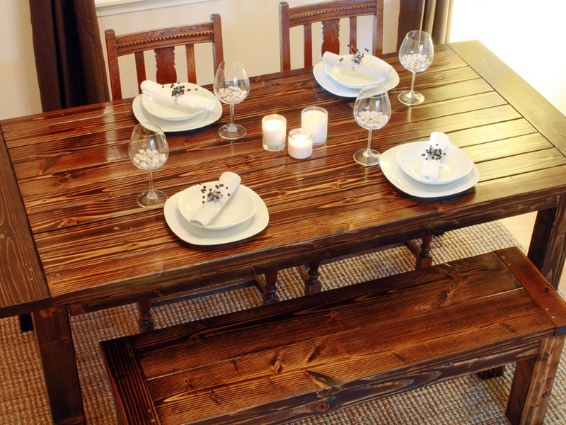 Homemade Dining Table Home Ideas