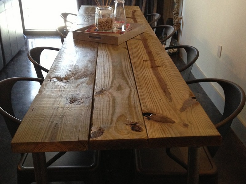 Homemade Dining Table Plans