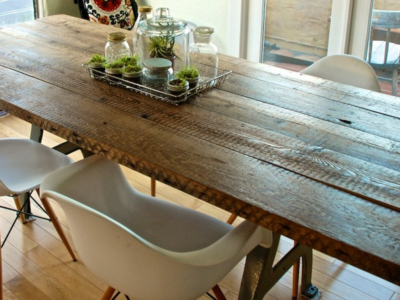 Homemade Wood Dining Table