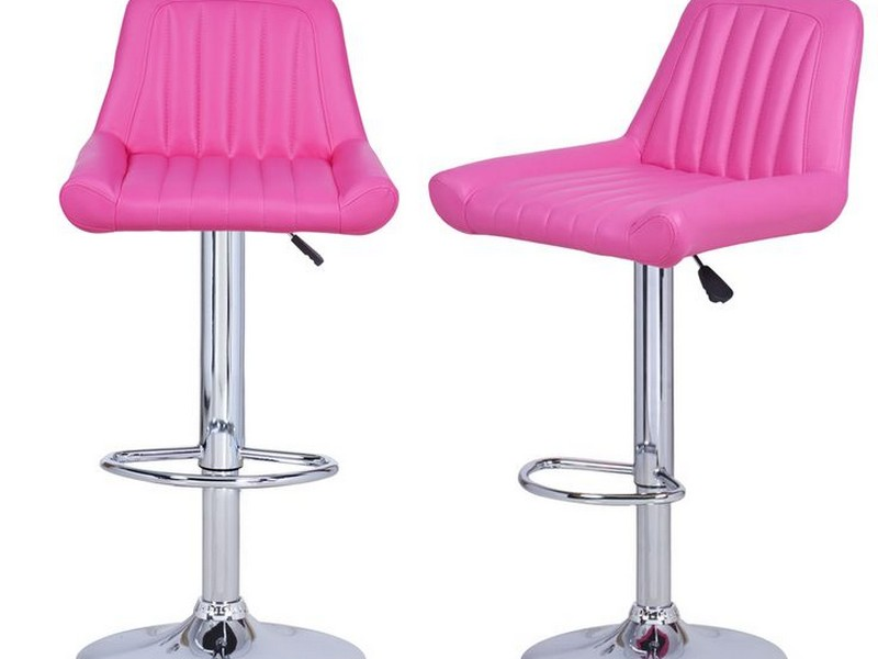 Hot Pink Bar Stools