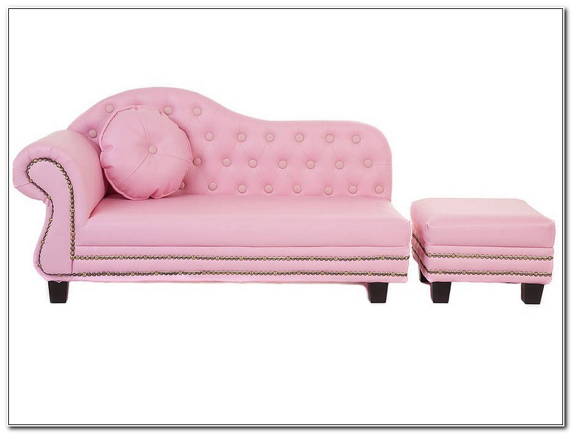 Hot Pink Chaise Lounge