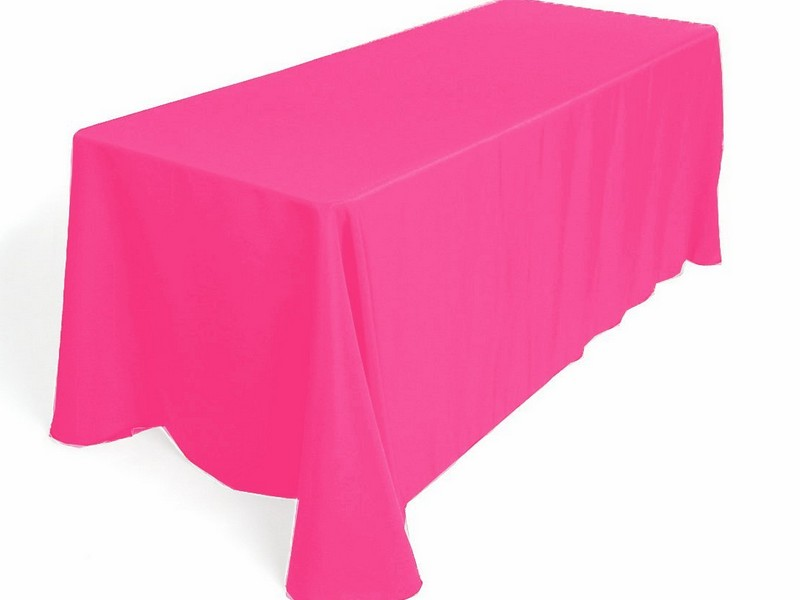 Hot Pink Tablecloth Linen