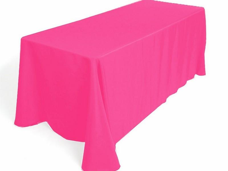 Hot Pink Tablecloth Linen