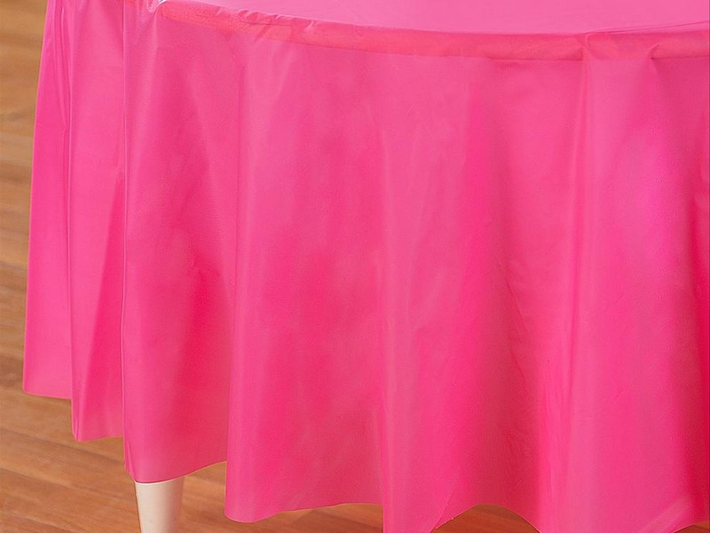 Hot Pink Tablecloth Table Linens
