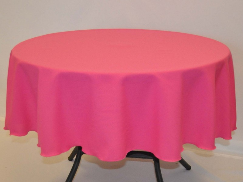 Hot Pink Tablecloth