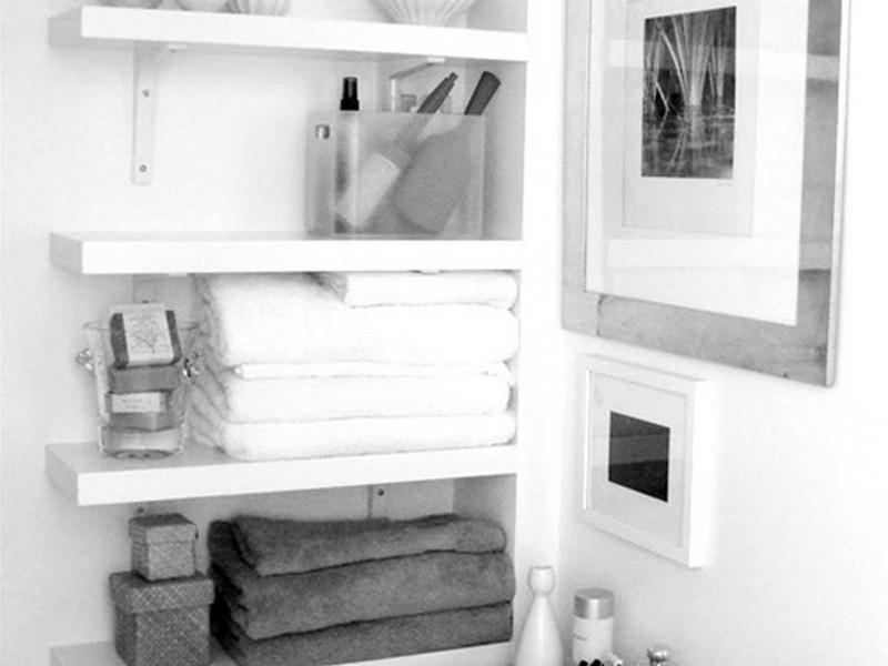 Ikea Bathroom Shelves Above Toilet