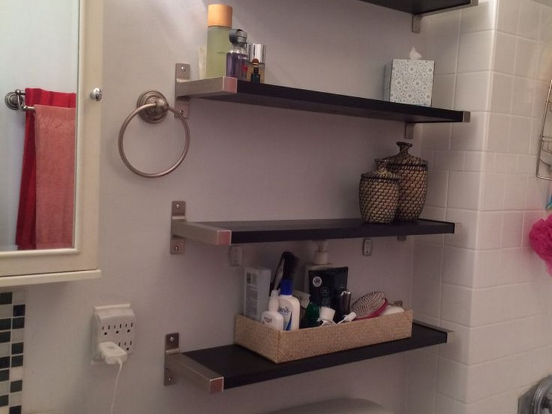 Ikea Bathroom Shelves Over Toilet