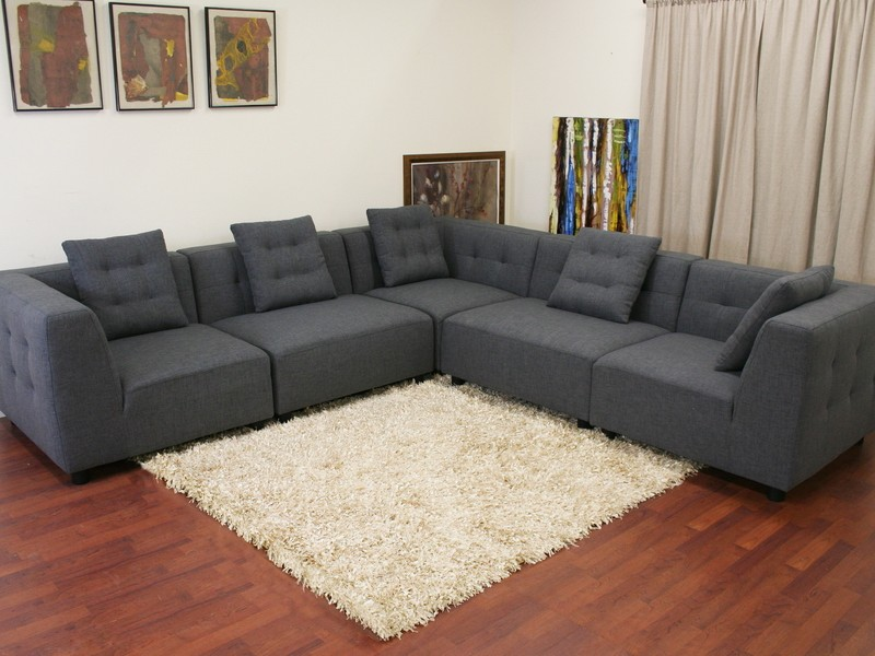 Ikea Gray Sectional Couch