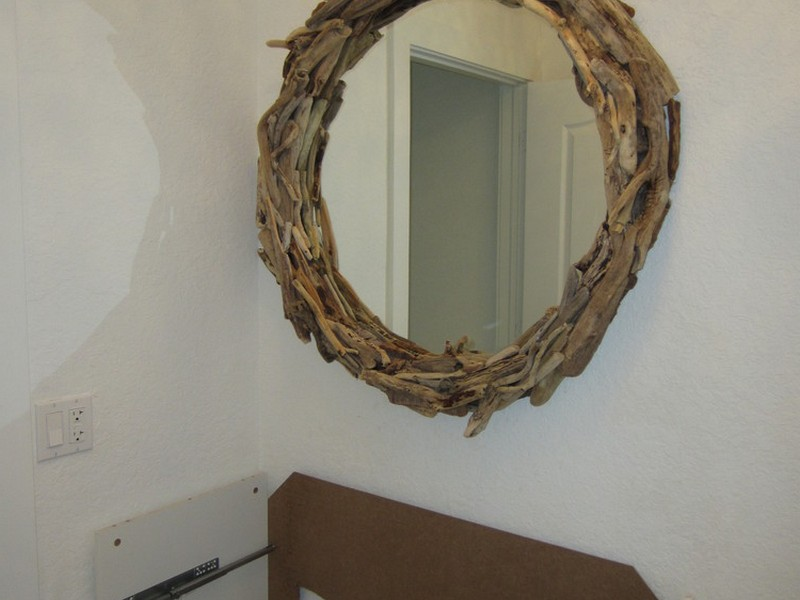 Ikea Round Mirror Hack