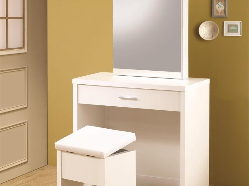 Ikea Vanity Table With Mirror And Bench