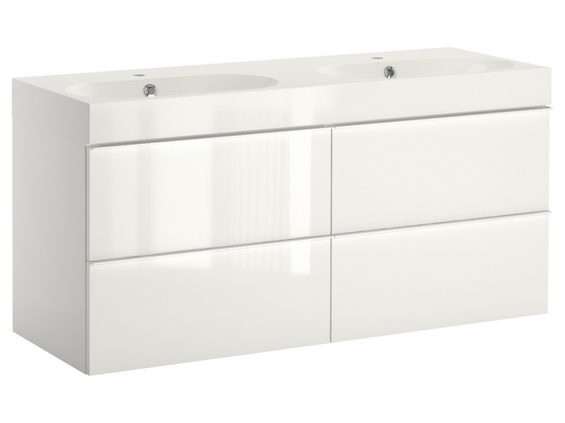 Ikea White Bathroom Vanity
