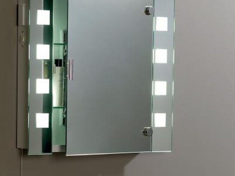 Illuminated Bathroom Mirror Cabinets