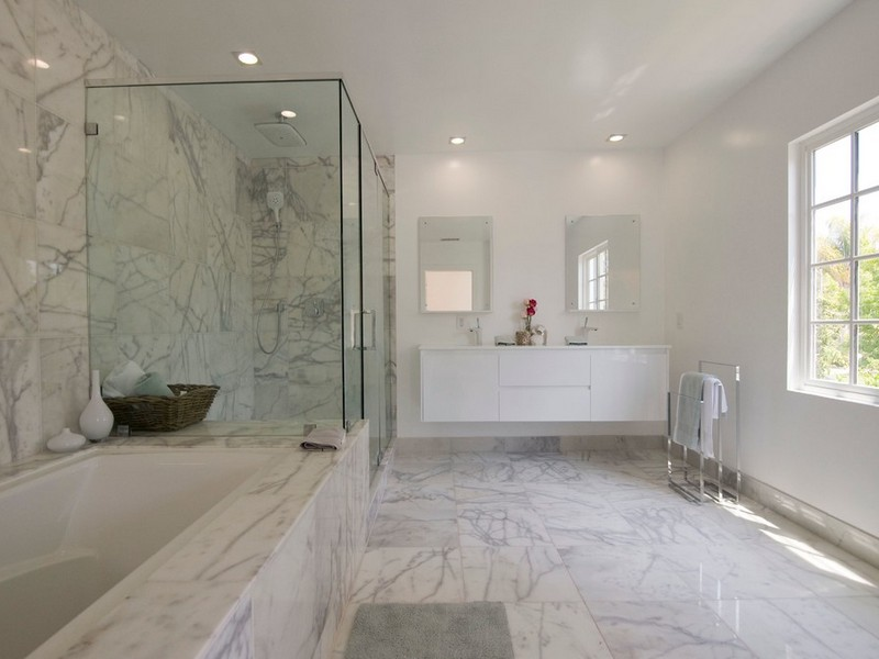 Images Of Carrera Marble Bathrooms