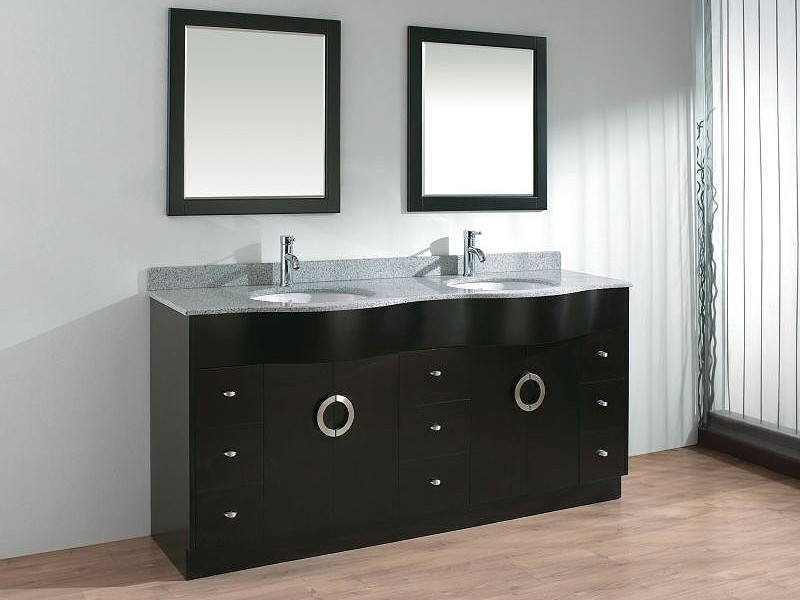 Images Of Double Bathroom Vanities