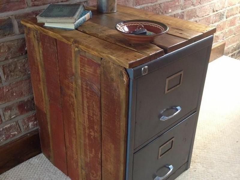 Industrial File Cabinet Vintage