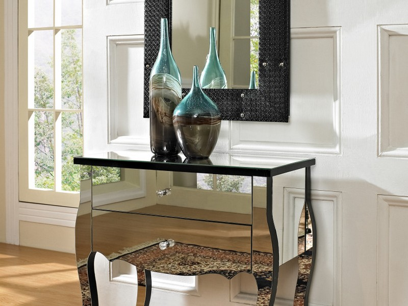 Inexpensive Mirrored Furniture