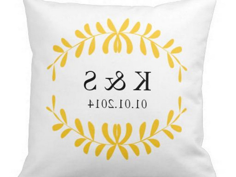Initial Throw Pillows