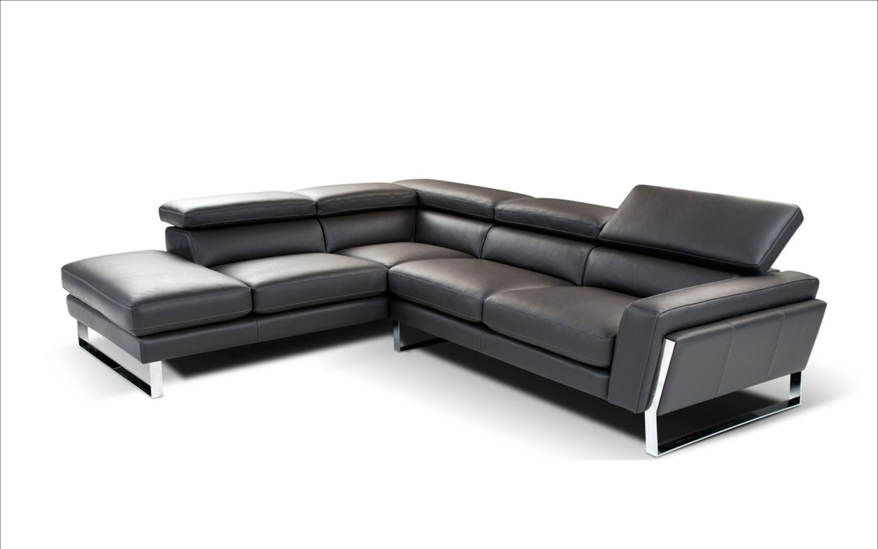 Italian Leather Sectionals Contemporary