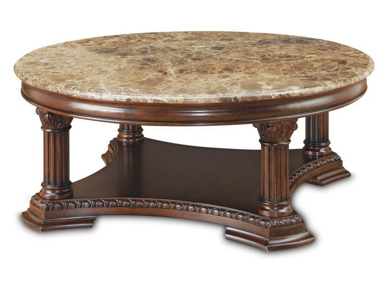 Italian Marble Coffee Table Antique