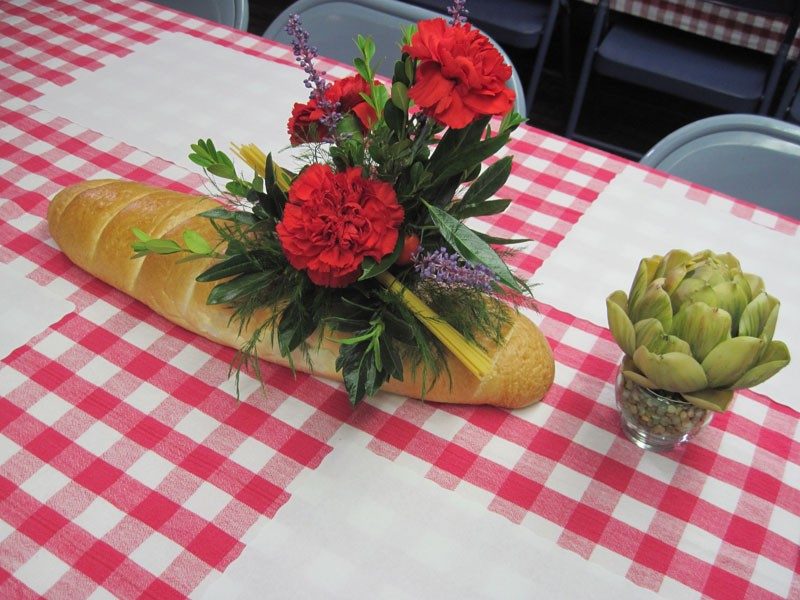 Italian Table Decorations