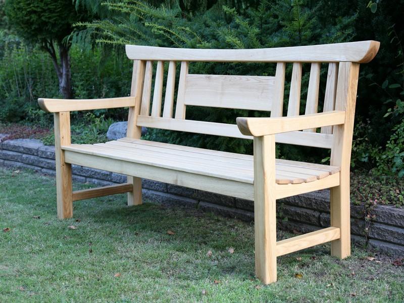 Japanese Garden Bench Free Plans