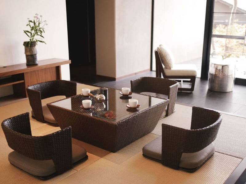 Japanese Low Dining Table