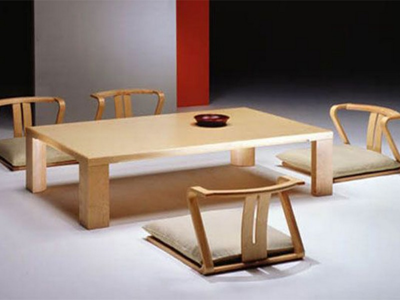 Japanese Style Dining Table Set