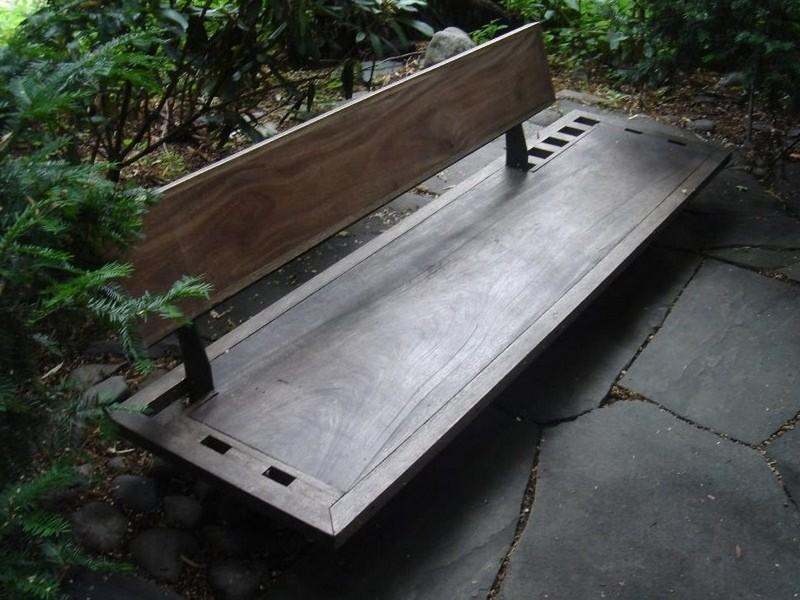Japanese Style Garden Bench