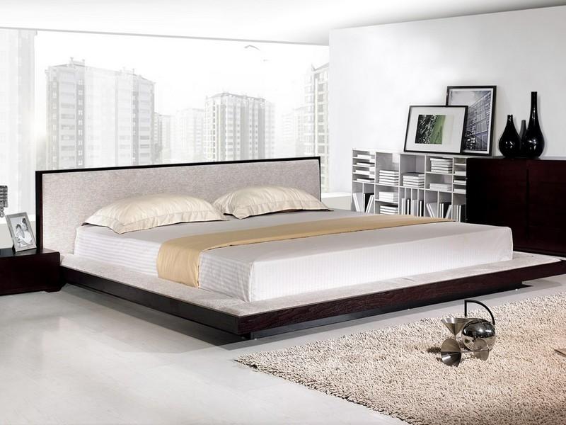 Japanese Style Platform Bed Frame