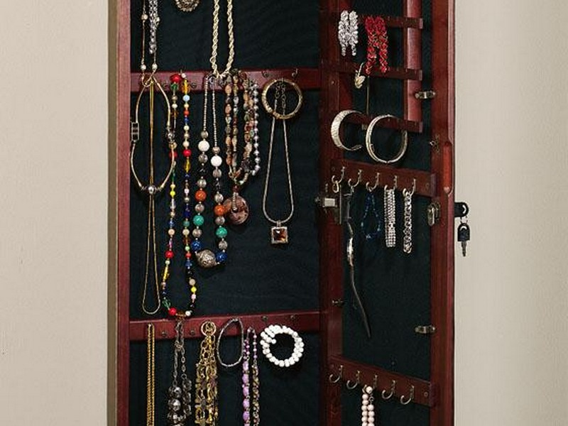 Jewelry Organizer Mirror