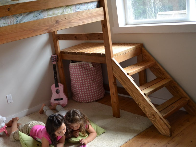 Junior Loft Bed Plans