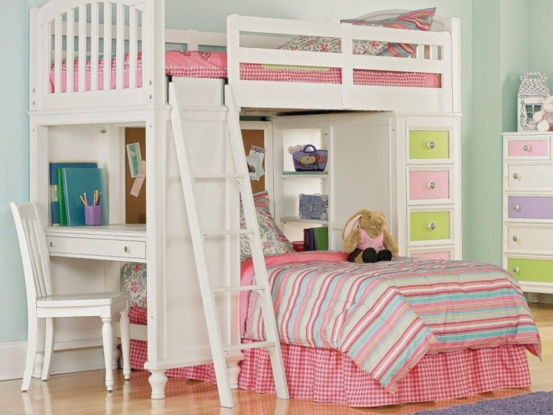 Junior Loft Bed White